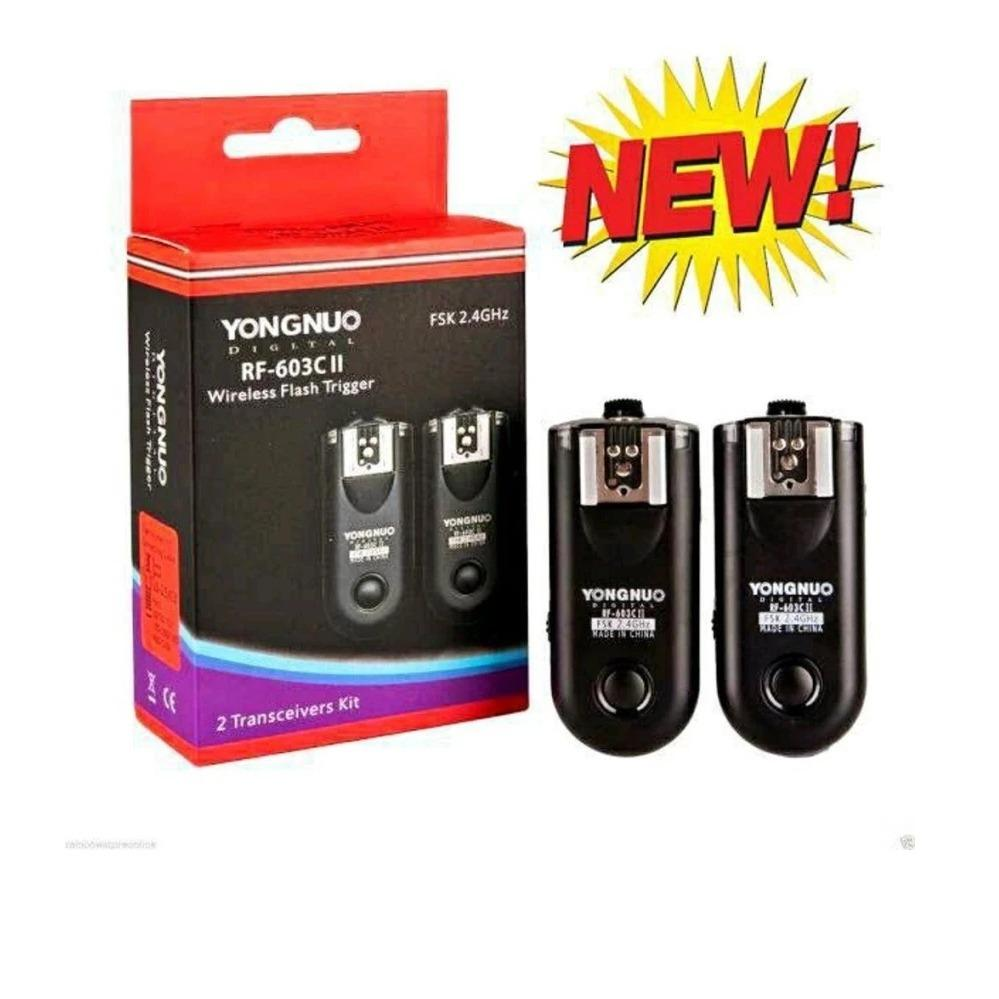 Wireless Flash Triger Yongnuo RF-603-C II For Canon