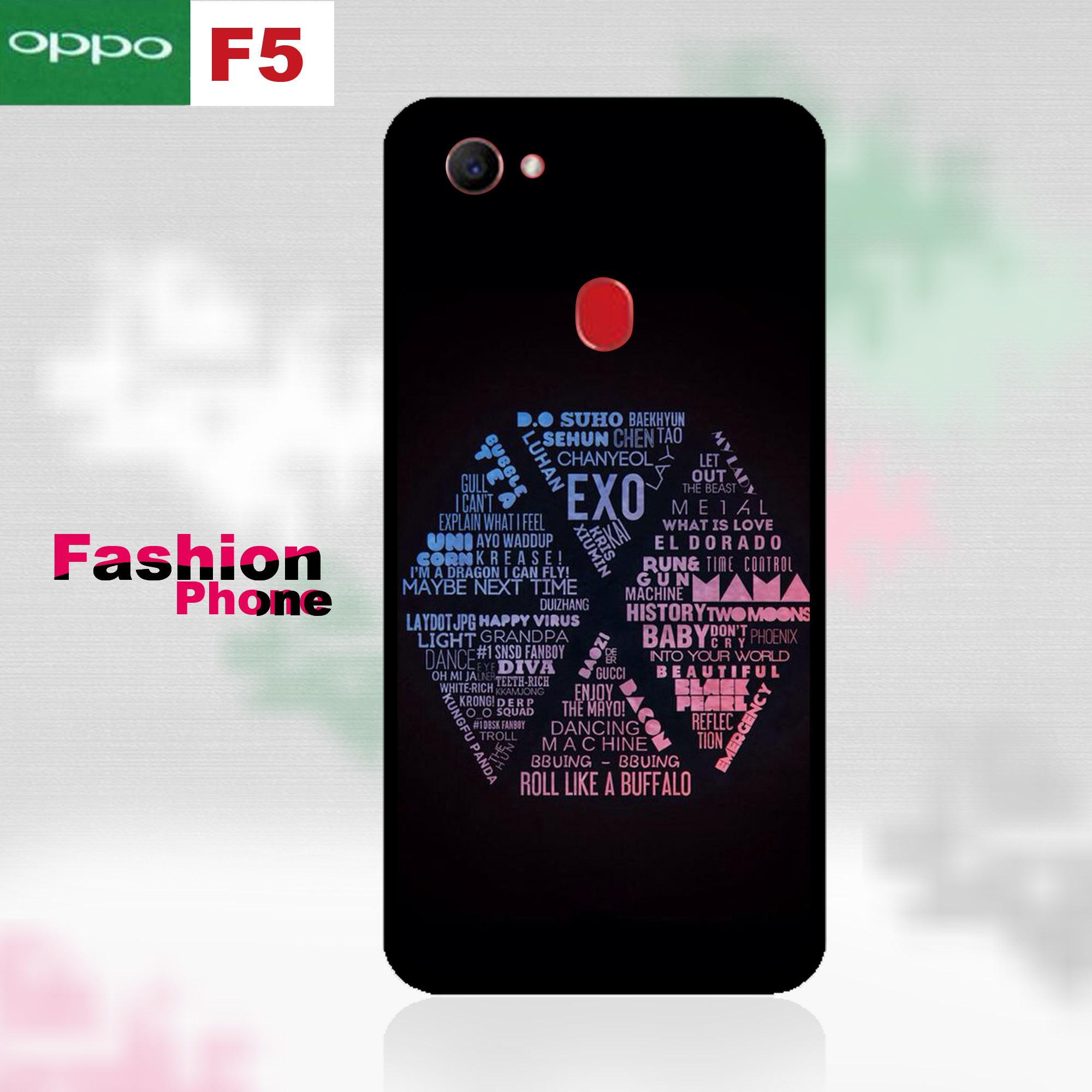 Case Oppo F5 - Fashion EXO Series