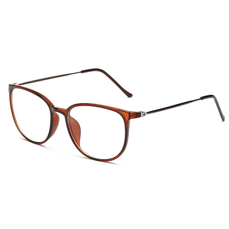 Bingkai kacamata wanita Gaya Korea pasang Retro Bisa dipadukan produk jadi  kacamata minus Anti Radiasi 眼睛 a256626a04