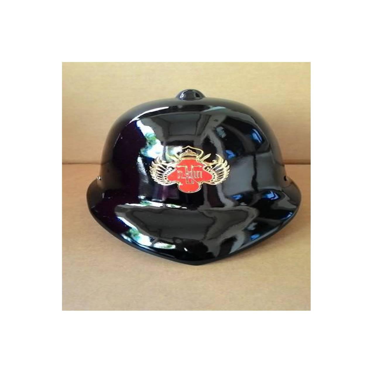 Topi inggris hitam logo kraton yogyakarta