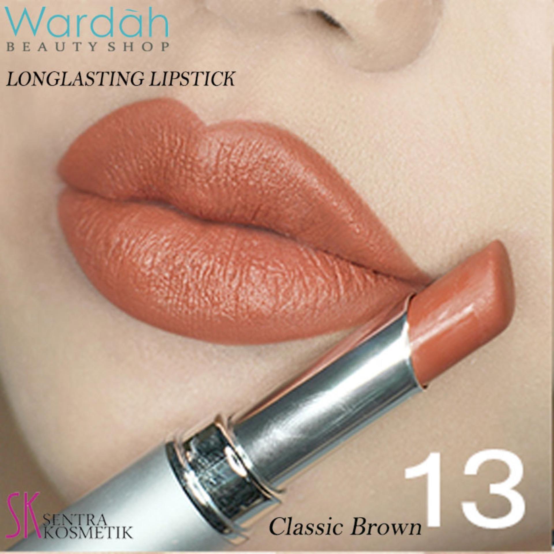Wardah Matte Lipstick 08 Brown dan 20 Nuddish Peach Daftar Update Source 01