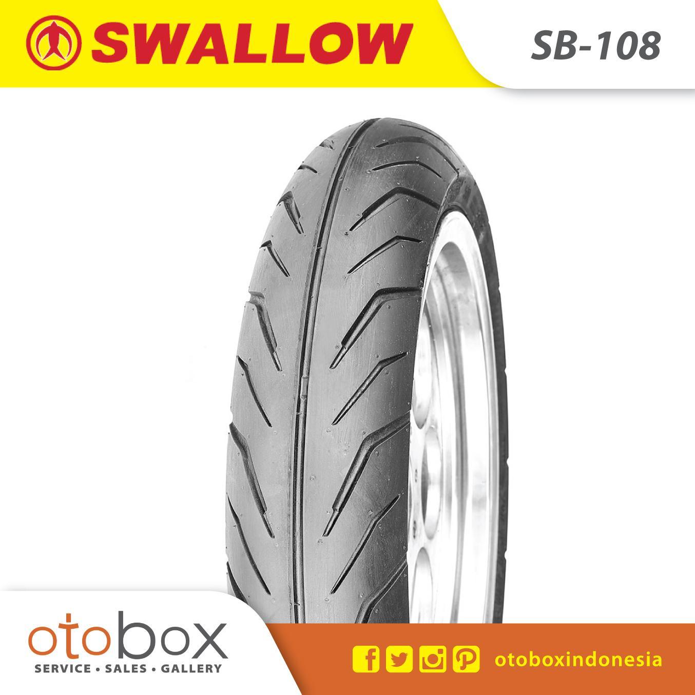 Ban Motor Swallow Tubeless 110/80-14 SB108 Thunder TL