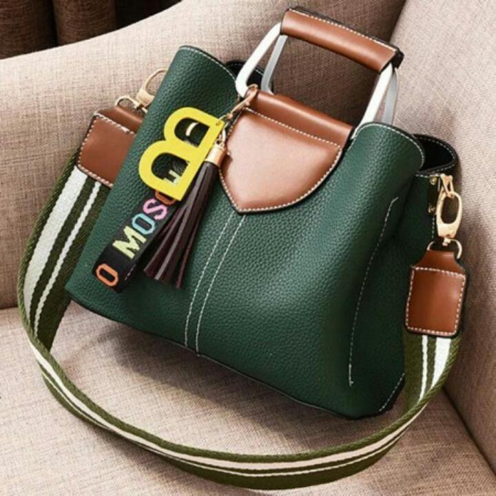 1ST-6421 Handbag Import + Free Gantungan Tas Lucu