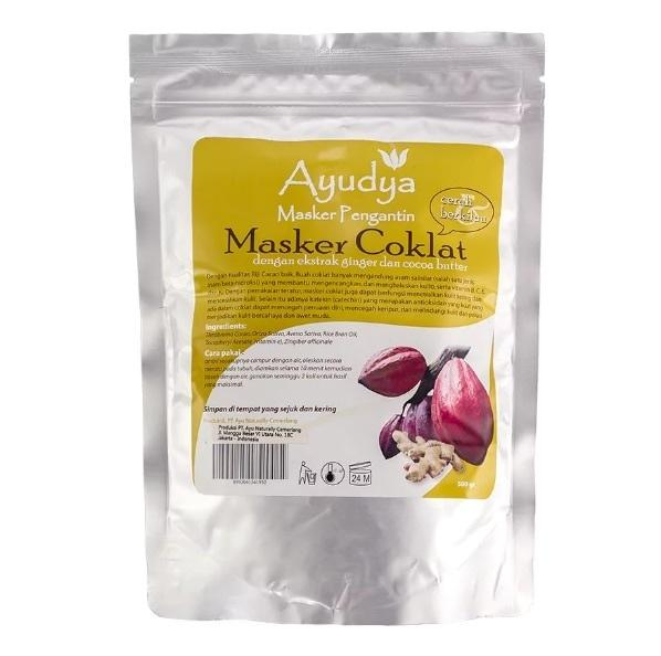 Ayudya Masker Coklat Powder 500gr (Body mask) / Ayudya Masker Coklat Powder 500gr (Body mask)(Body mask) / New !! Body mask Ayudya 500gr / Masker Coklat Powder 500gr / Maker Ayudya 500gr