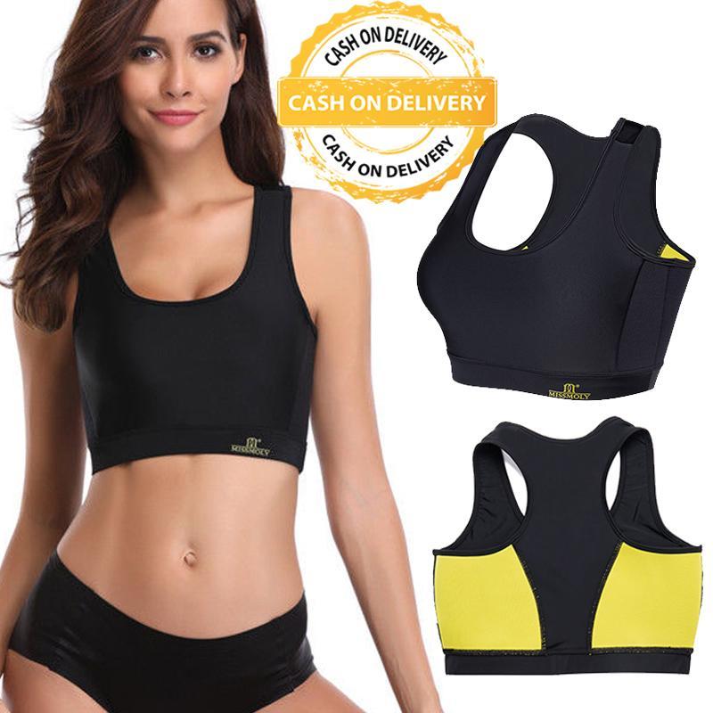 Hot Shapers Bra Body Shapers Bra Pengencang Payudara Pakaian Dalam Wanita Sports Bra Women Slimming Sportswear Weight Loss Vest Underbust Waist Trainer Vest By Health And Beauty Solution.