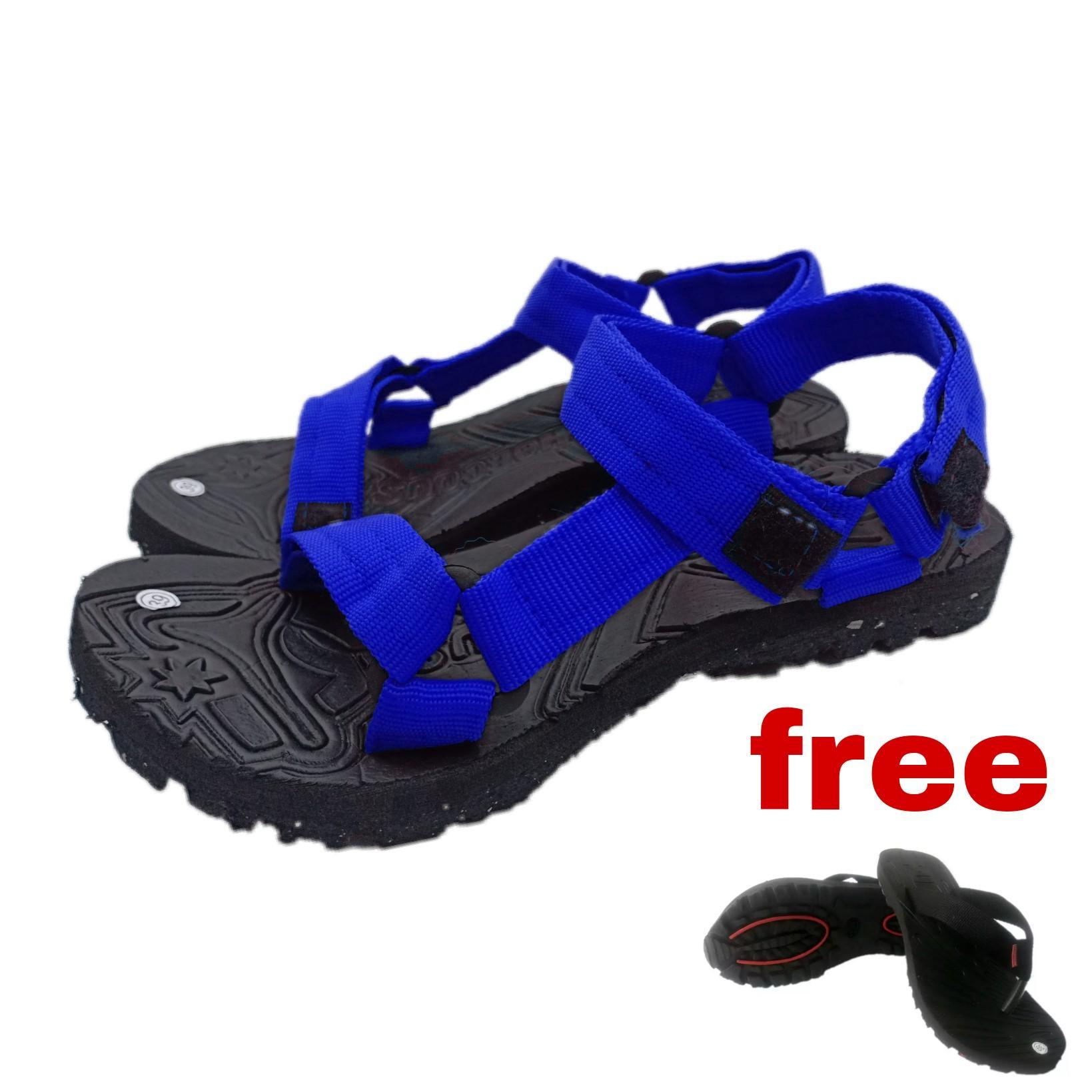 Arsy Sport / Sandal Gunung Pria / Sandal selop / Sandal Pria / Sandal Murah - Free Sandal Jepit