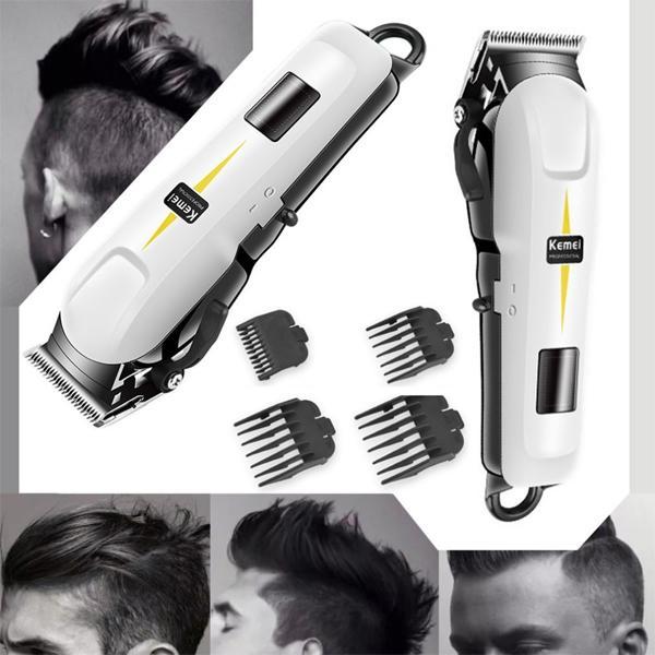 TERMURAH SE LAZADA ORIGINAL Professional Cordless Hair Clipper KEMEI  KM-809A - Mesin Cukur Rambut e57df228b8