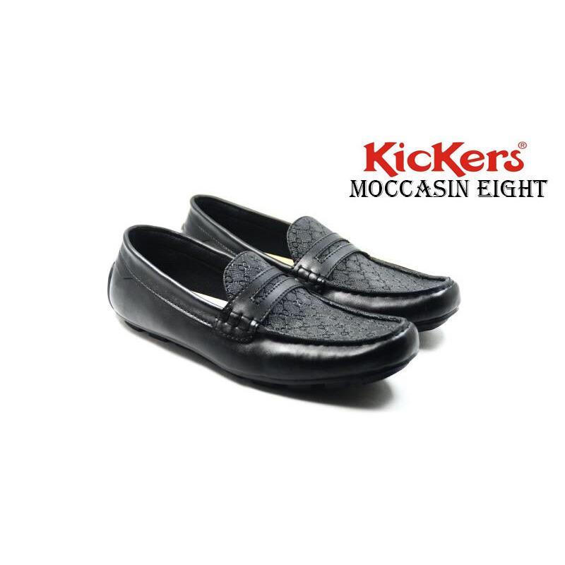 sepatu pria kickers eight mocasin