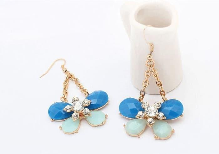 PROMO SAAT INI anting panjang fashion korea kupu dangling earrings butterfly jan118 TERLARIS