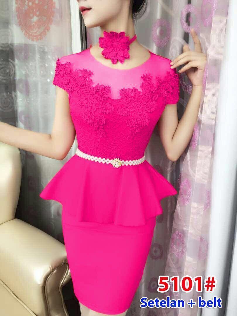 5101# baju pesta import / setelan wanita / setelan pesta / stelan fashion import /