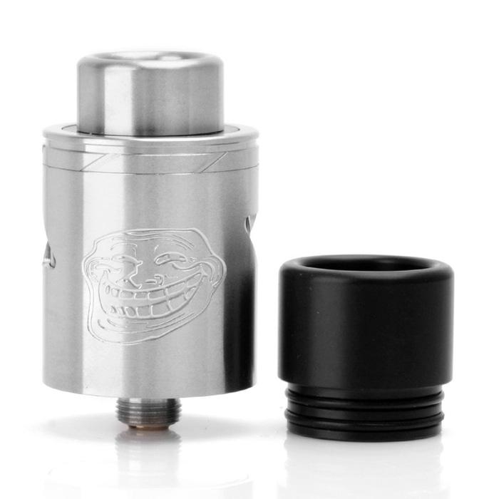 The Troll V2 25mm RDA Atomizer - SILVER [Authentic] [VP02039]