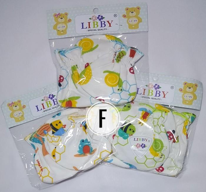 3 Set Sarung Tangan dan Kaos Kaki Bayi Libby
