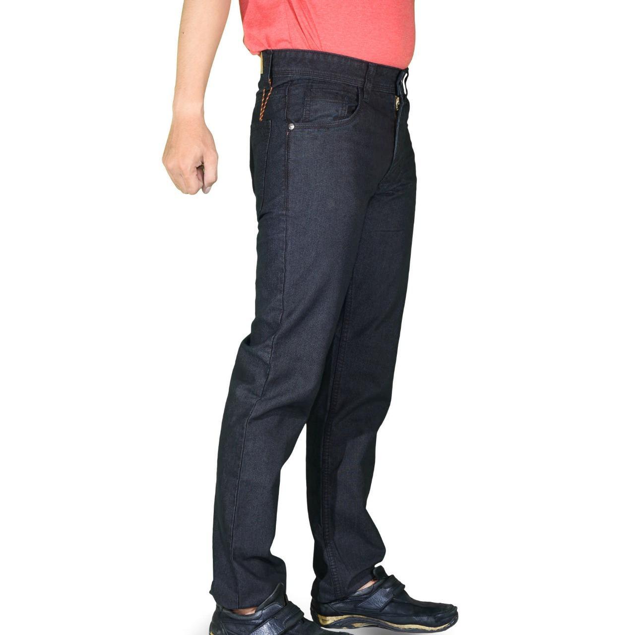 Emba Casual Celana Panjang Pria EPA 012 Modern Basic - Overdyed Black
