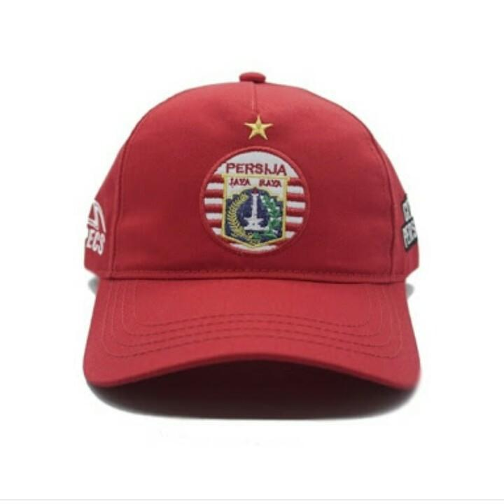 Topi Baseball Football Klub Persija Jakarta Macan Kemayoran Logo
