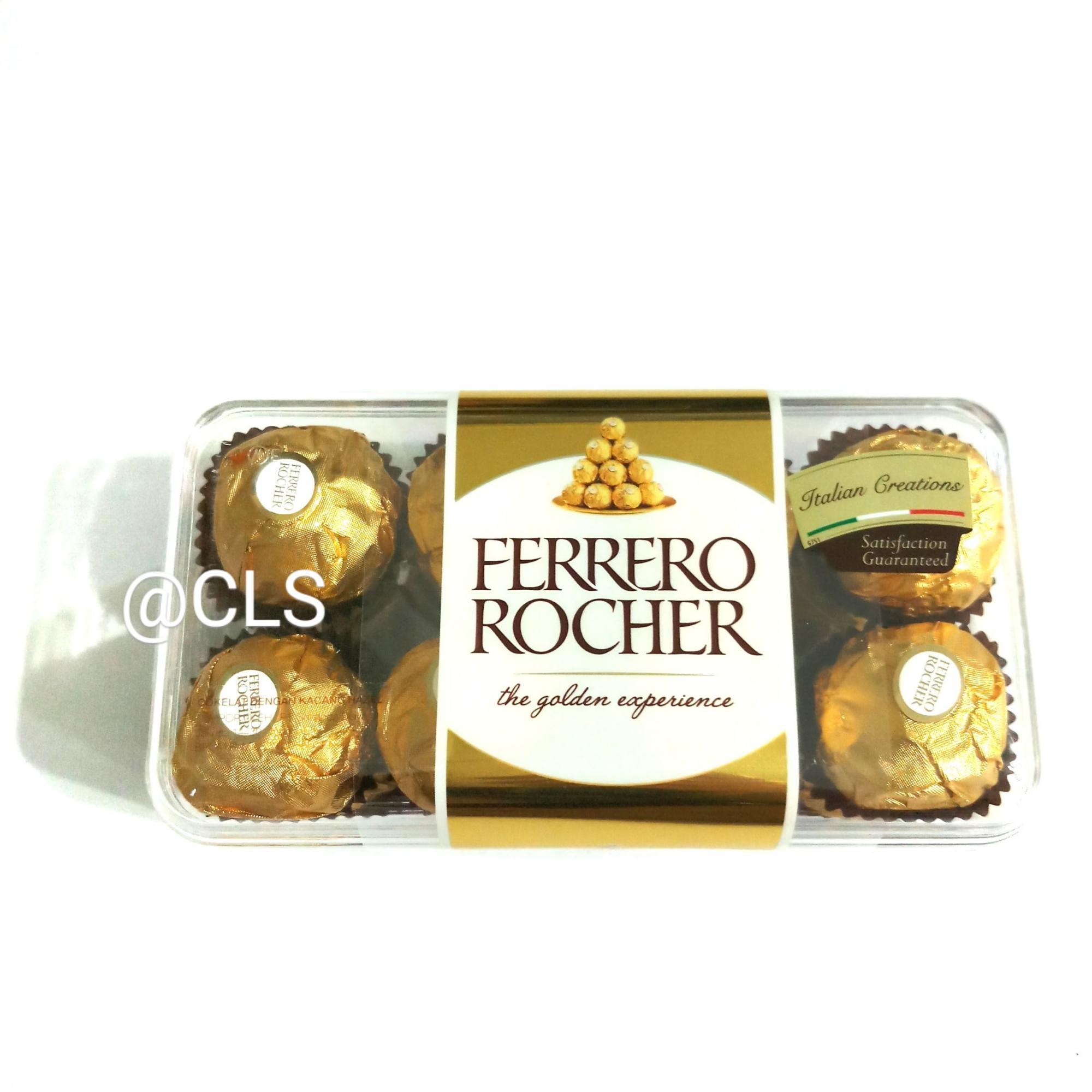 Buy Sell Cheapest Coklat Ferrero Rocher Best Quality Product Deals T24 24pcs 200g