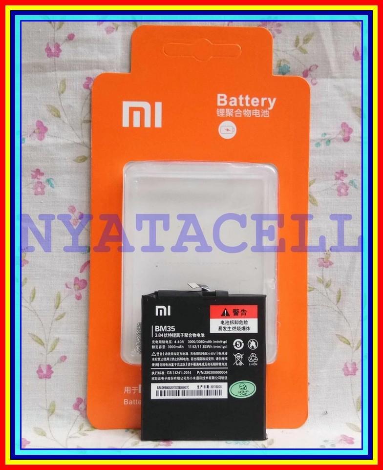 Baterai Ori 99 XIAOMI Mi4C Mi 4C Bm35 Batre Original 99% KW Battery