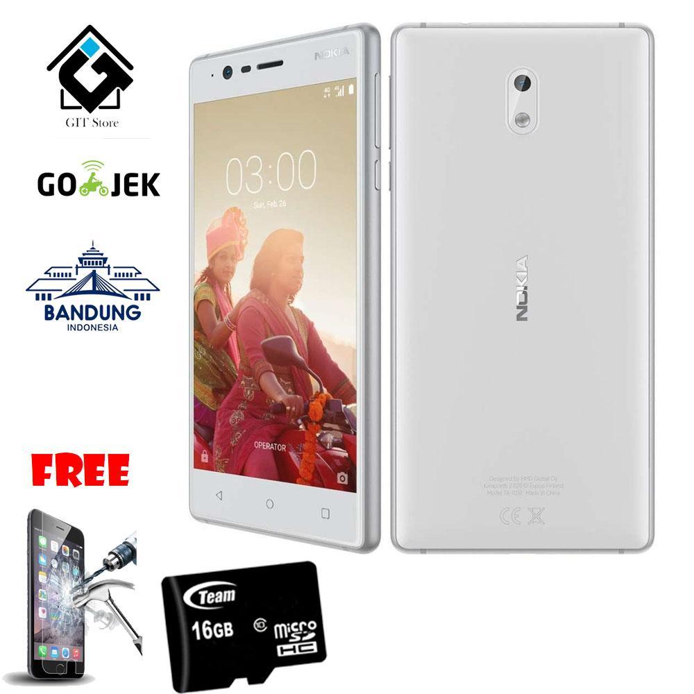 Nokia 3 16GB Free 2 item Garansi Resmi Nokia Indonesia