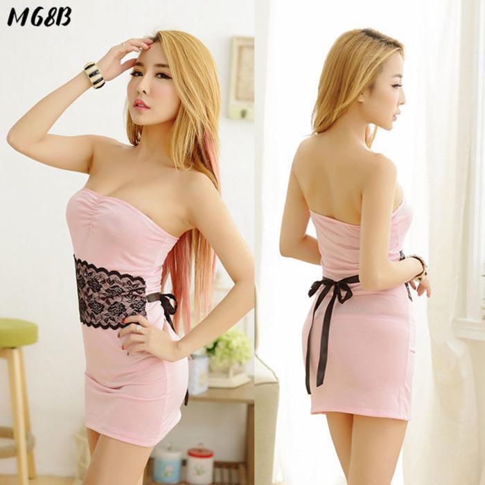 S-Xxl Mini Dress Lingerie Clubwear Clubbing Baju | Kado Nikah M68B