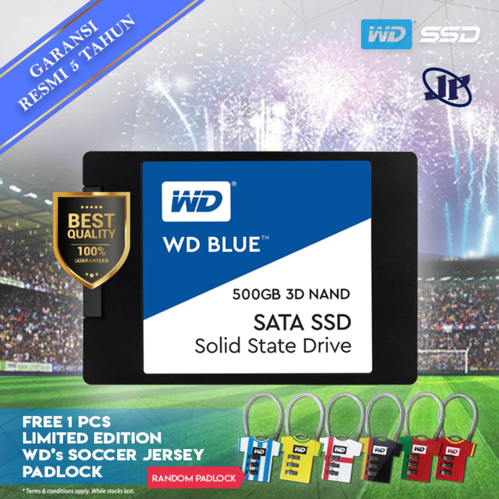 Western Digital WD Blue 3D Nand SSD 500GB 2.5