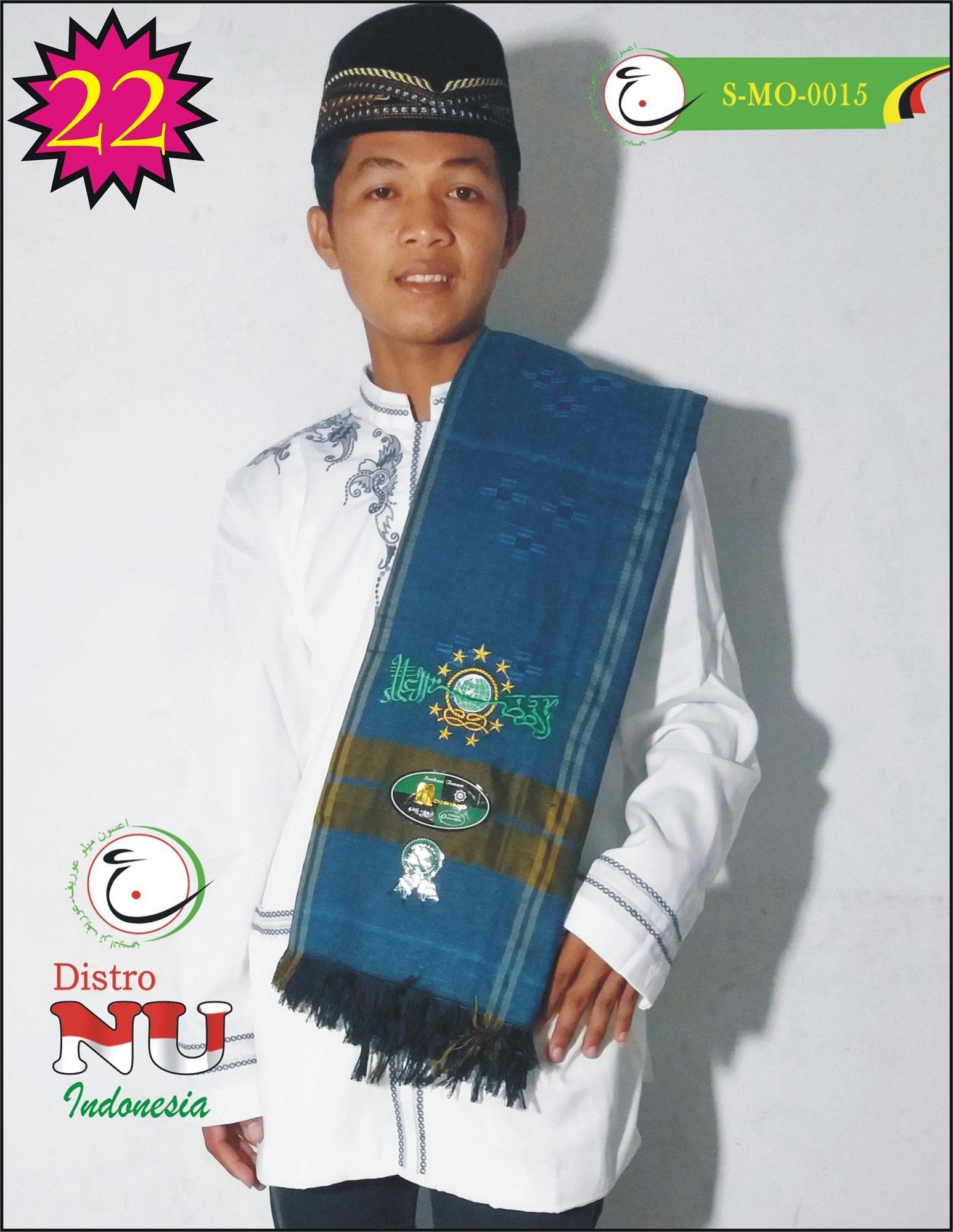 SORBAN NU XL BORDIR TEBAL BAGUS TENUN MO BIRU  / surban / sajadah / sarung / batik nu / jasko / koko / busana muslim / peci / songkok / gamis / jubah / sarung nu / jas nu / jasket / kerudung baru / baju wanita / kemeja / kaos distro / kaos lukis / kopri