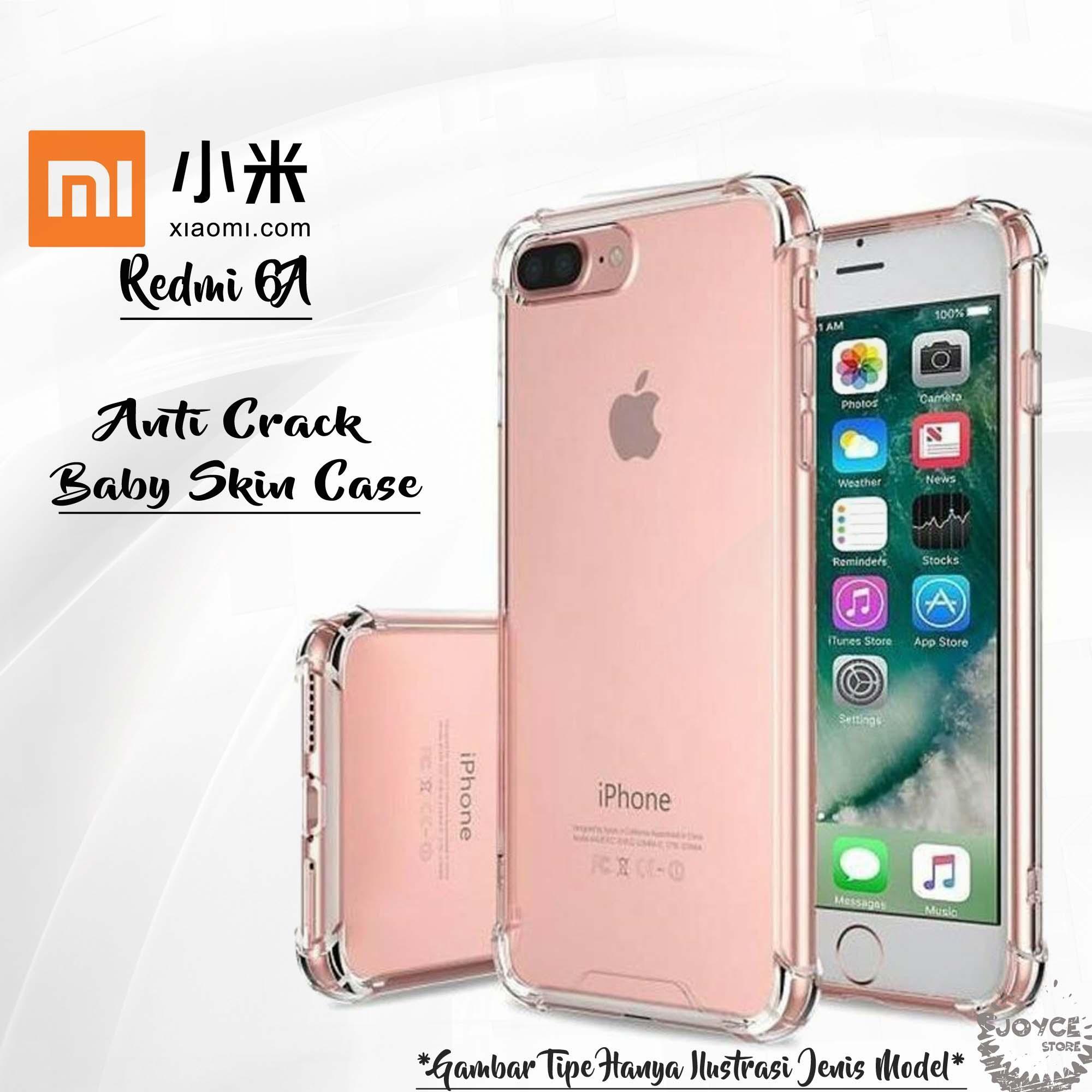Joyce Soft Silicon for Xiaomi Redmi 6A Slim Matte Black / Anti Crack Case Baby Skin