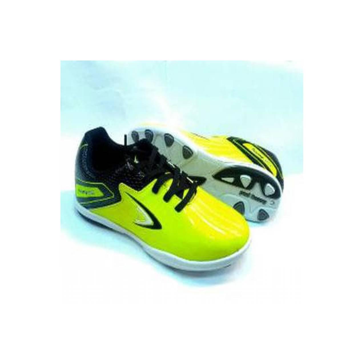 Sepatu futsal anak Homyped Guardiola neon black Berkualitas