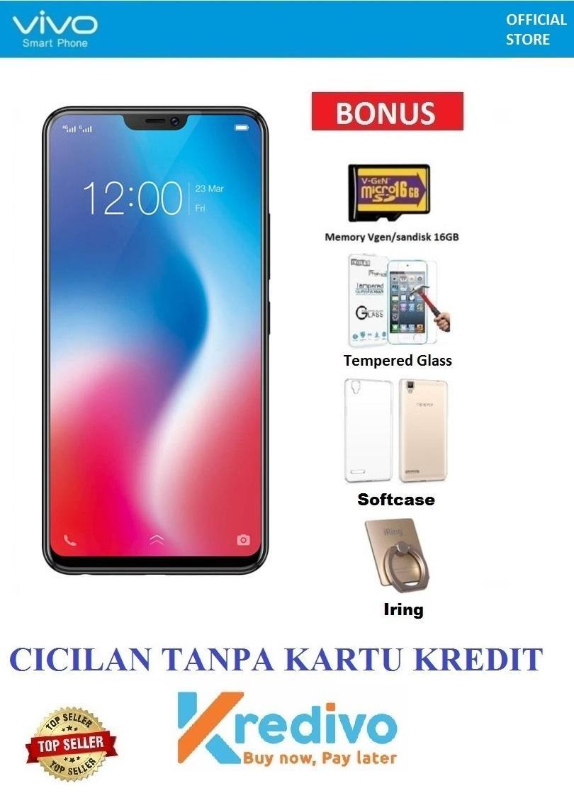 Vivo V9 Ram 6GB/64GB - Bisa Cicilan Tanpa Kartu Kredit + Hadiah 4 Acc