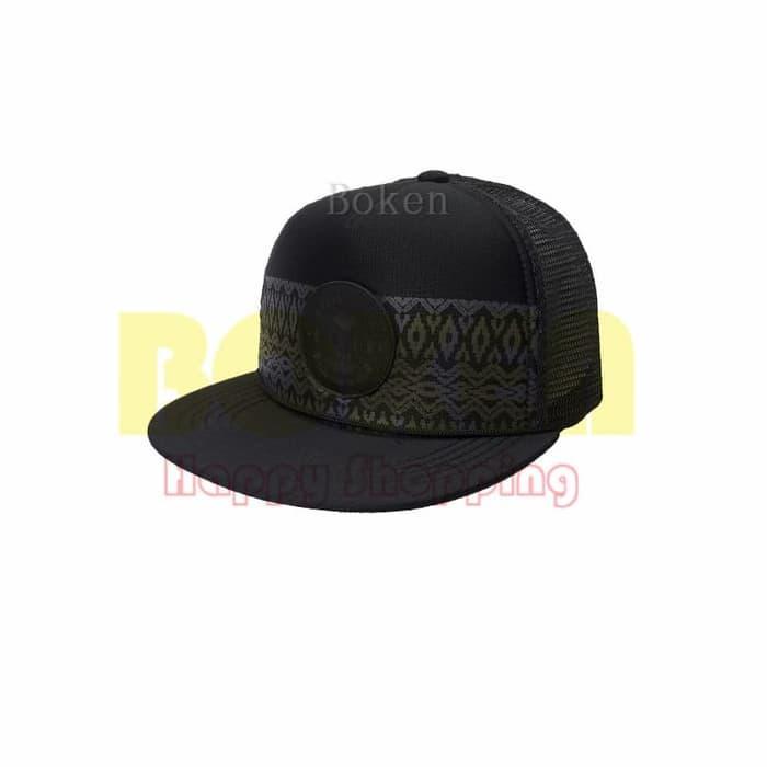 Topi Eiger 910003642 003 Black Tonga Cap Travel Hat Original - yOAHlj