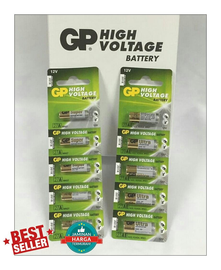 Buy Sell Cheapest Gp 23a Batre Best Quality Product Deals Baterai Battery Remot Alarm Mobil 27a 27 A 12v Remote Super Dan 23ae Ultra