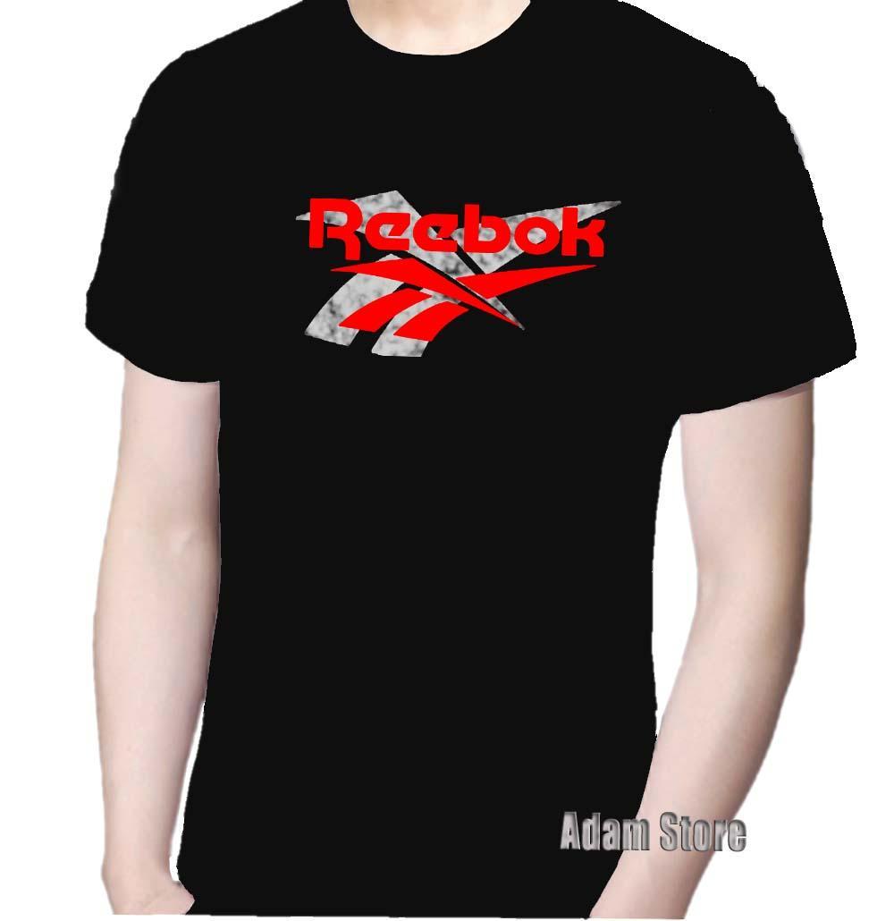 Harga Kaos T Shirt Distro Reebok Pria Wanita Bahan Catton Harga Rp 49.000