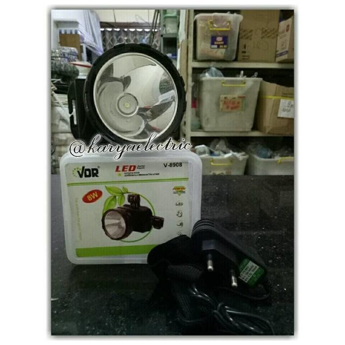 Senter Kepala / Head Lamp LED merk VDR V-8908
