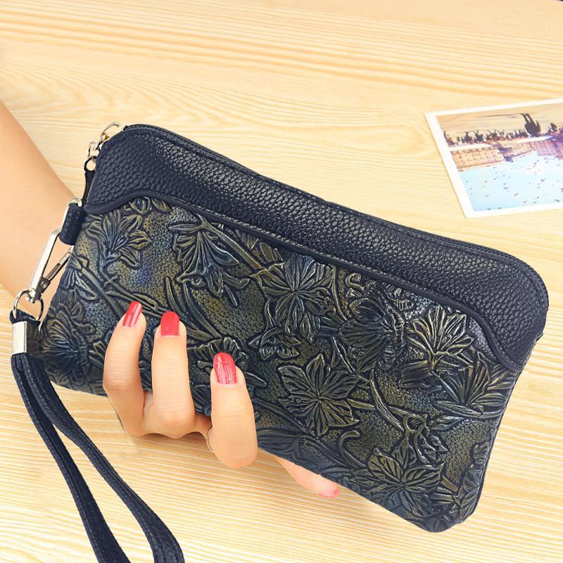 2019 model baru Gaya Korea modis bersablon tas tangan musim panas  ritsleting tas kecil Layar Besar df455a2609