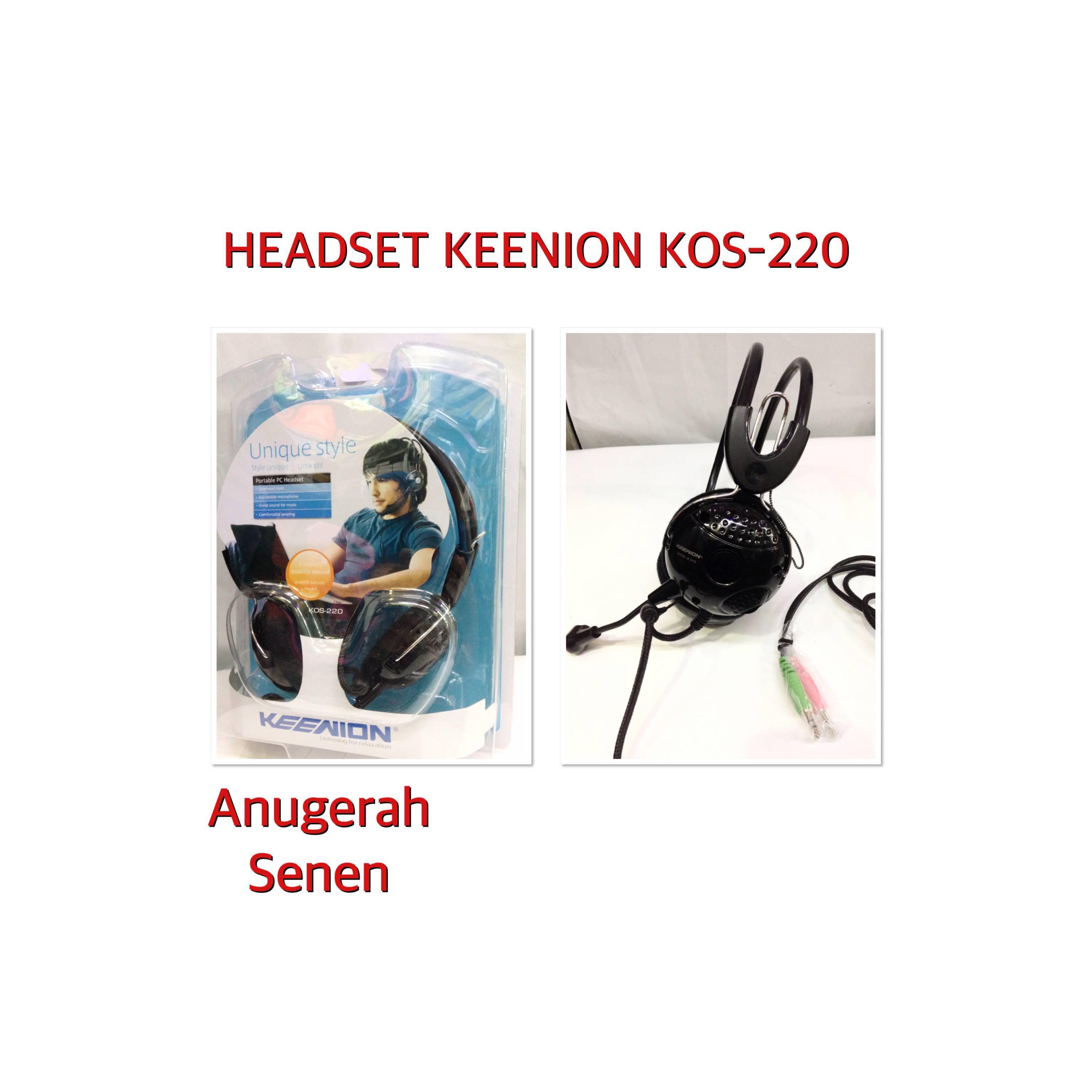Keenion Headset Super Gaming Kos 220 Hitam Daftar Update Harga 803 Headphone Original Blue 220idr88000 Rp 88000