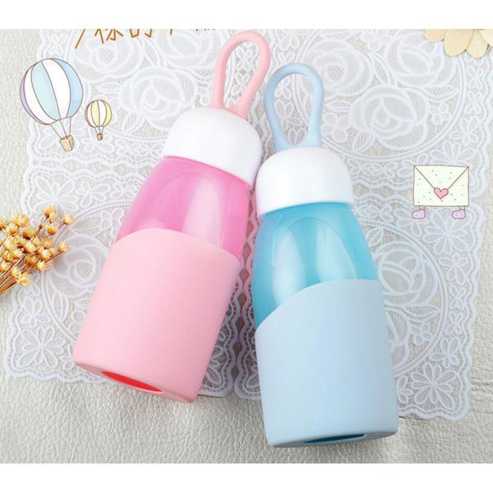 Botol Minum Mini Lanyard Lucu 400Ml BPA Free