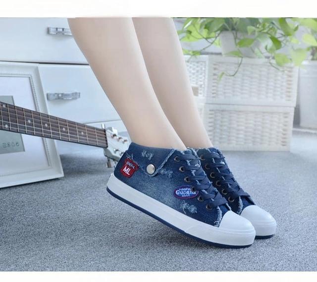 Kiss Shoop Spatu Sneakers Levis Kantong RN