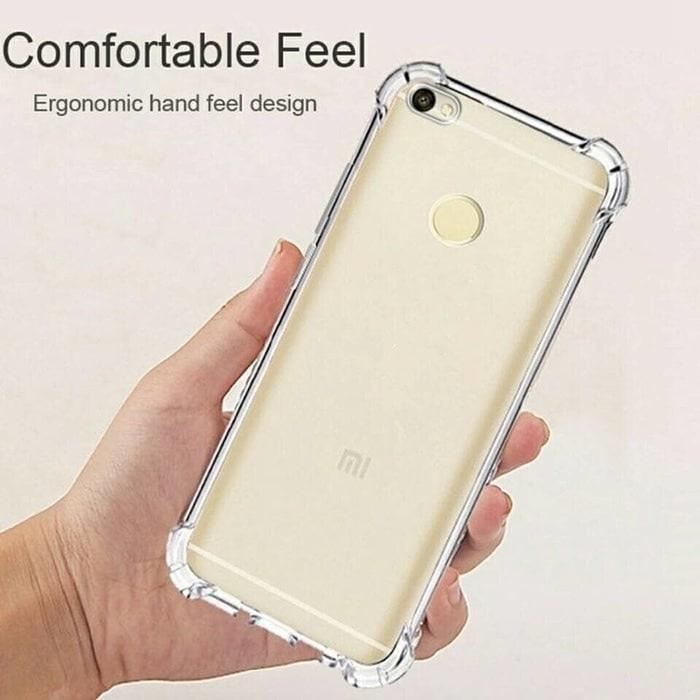 Case Anti Shock / Anti Crack Elegant Softcase For Xiaomi Redmi Note 5A  White Clear - YG0709