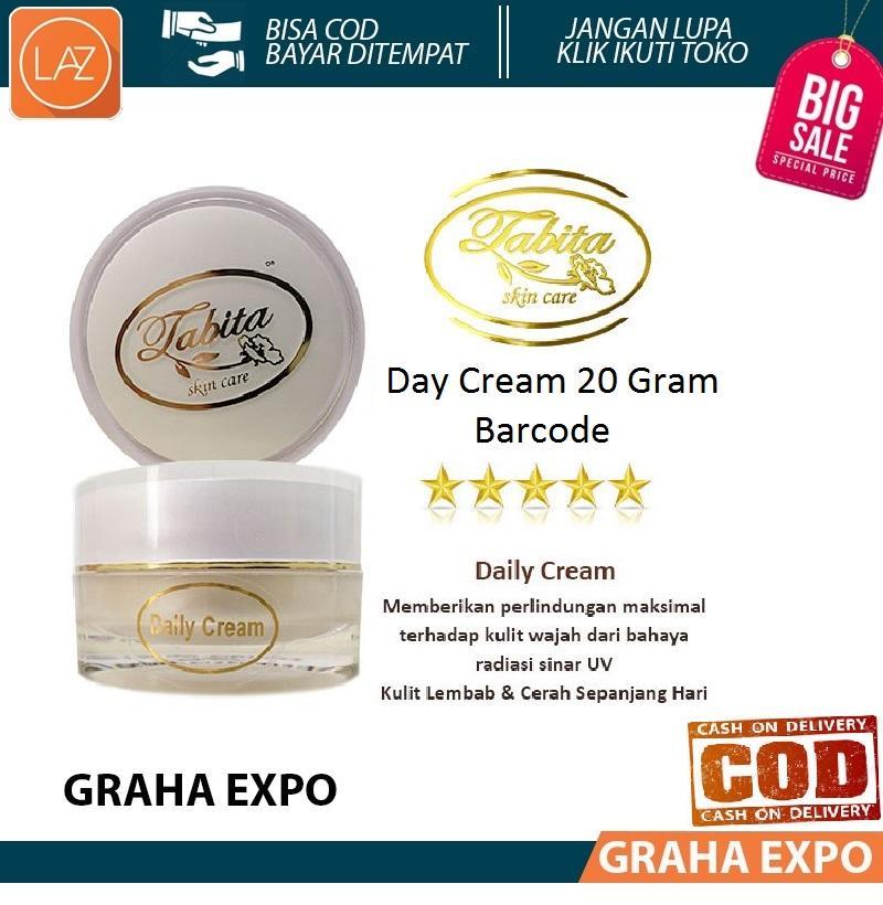Tabita Kemasan Baru Barcode Day Cream / Krim Pagi atau Siang Travel Size 20gr Malaysia Original Fac