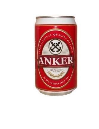 Bir Anker Pilsener 330ml Kaleng