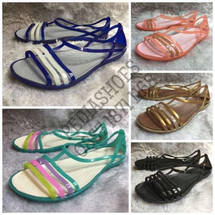 Promo (GARANSI TERMURAH) Sepatu Wanita Crocs Isabella Sandal Original Gratis Ongkir