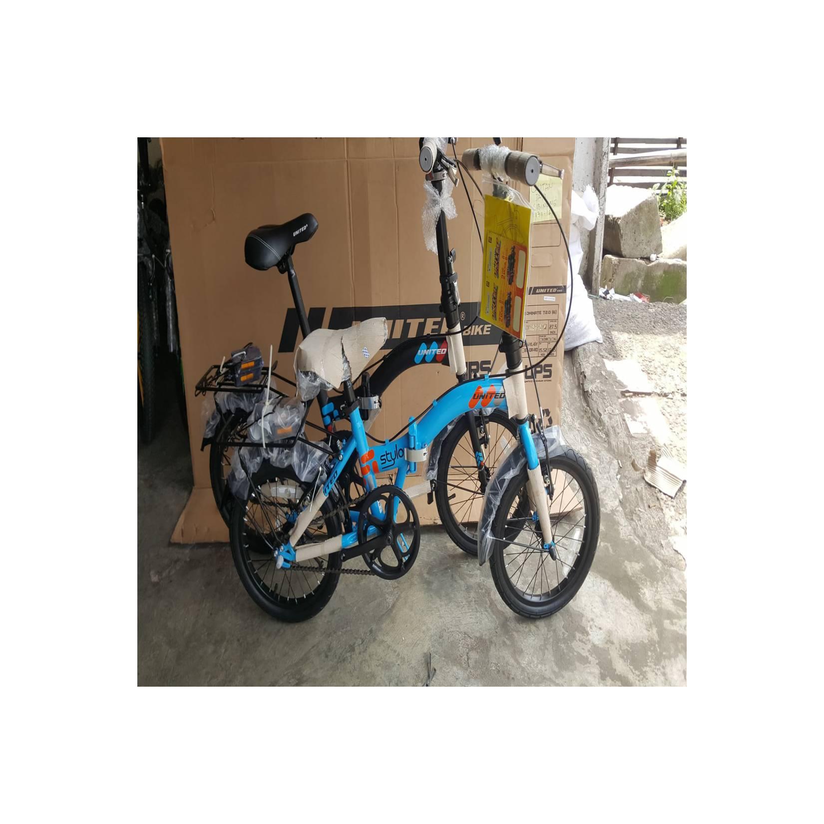 Sepeda anak lipat 16 United Stylo New