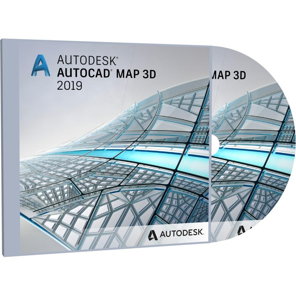 Autodesk AutoCAD Map 3D 2019 + BONUS Adobe Photoshop CC 2018