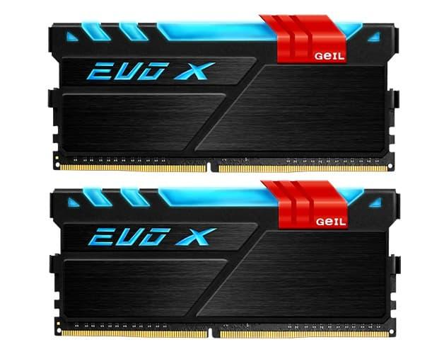 Geil DDR4 Evo X RGB Led PC24000 Dual Channel 16GB 2X8GB - Jual Produk Komputer & Laptop Murah Terbaik