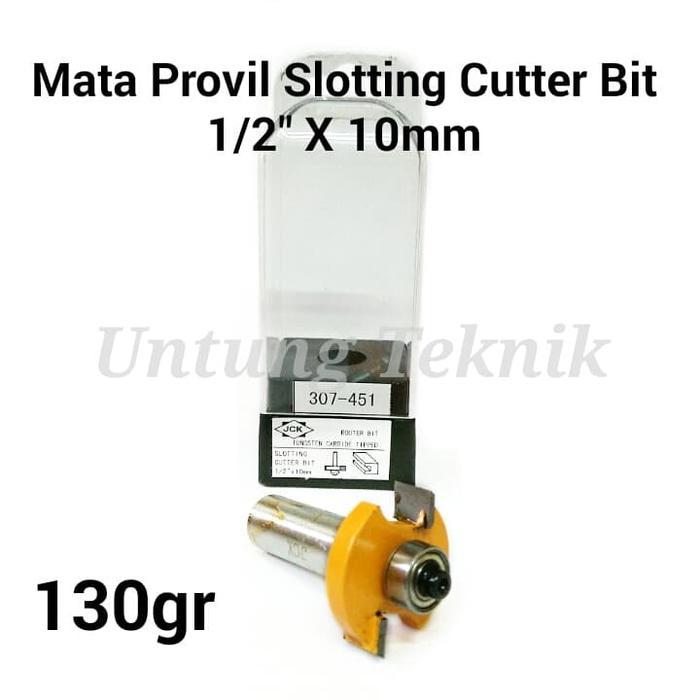 JCK 0.5 inch x 10mm Mata Profil - Router bit