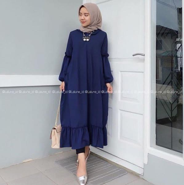 Baju Atasan [Lalune Tunik] Blouse Baju Muslim Blus Muslim