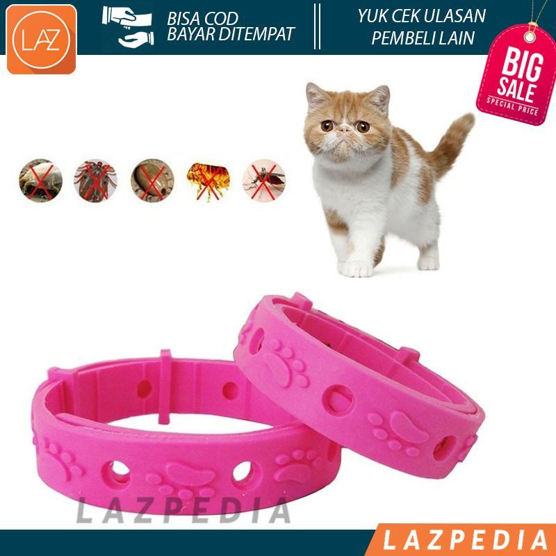 Laz COD - Kalung Anti Kutu Kucing Anjing Musang Kelinci Design Unik & Lucu Untuk Hewan Kesayangan / Pink - Lazpedia A367