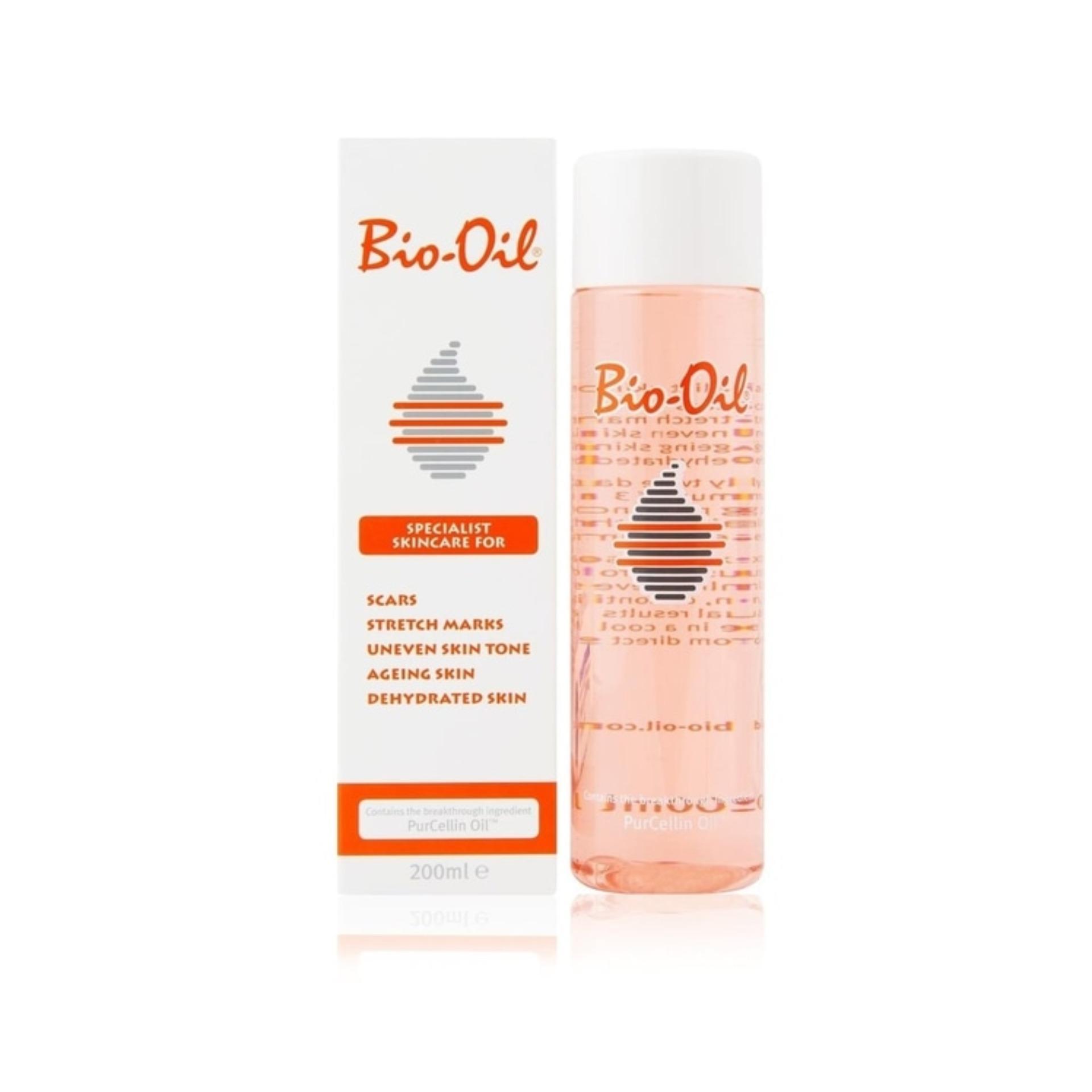 Bio Oil 200Ml BioOil Penghilang Stretch Marks Uneven Skin Tone