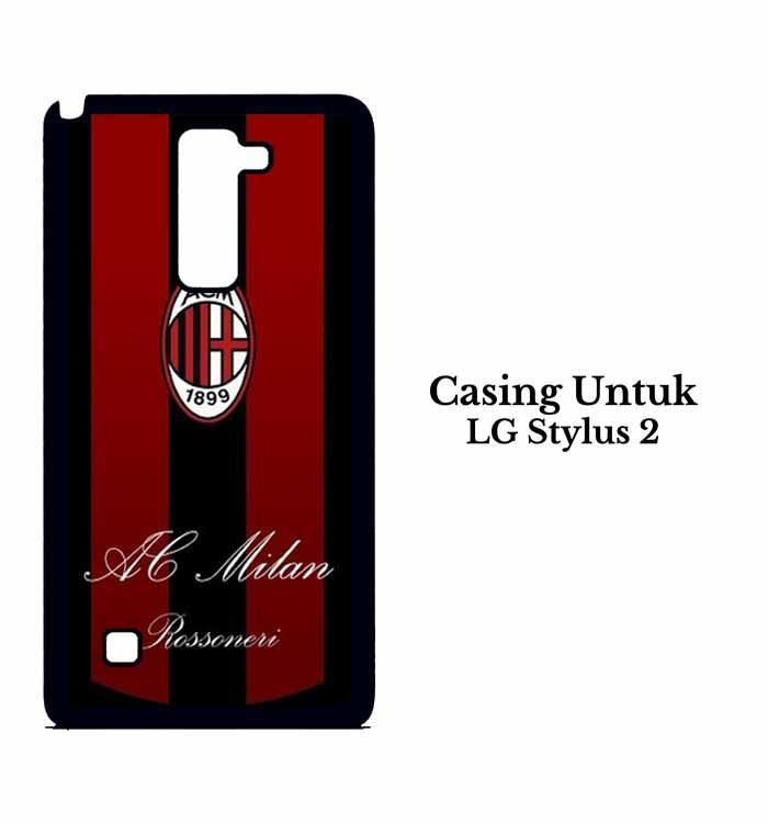 Casing LG Stylus 2 ac milan 3 (2) Custom Hard Case Cover