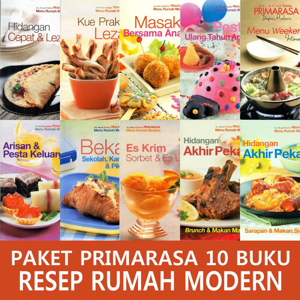 Paket Primarasa 10 Buku Resep Rumah Modern By Feminagroup.
