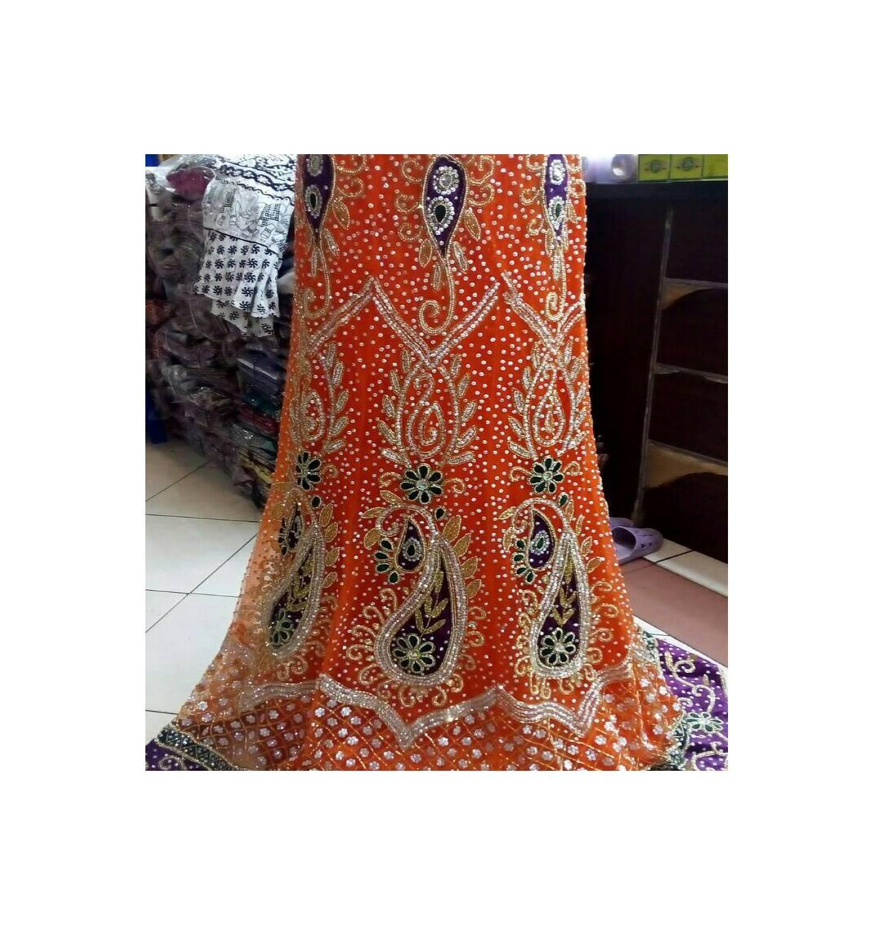 gaun pengantin India 6 motif