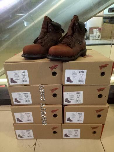 Promo Red Wings 3526 Safety Shoes Original 100% Original